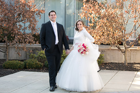 Adrienne and Paul Zimmerman met through matchmaker Michelle Mond. (Provided)