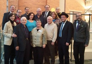 Fourteen area rabbis were featured at Howard Community College for the Global Day of Jewish Learning last year. | Photo by Melissa Apter