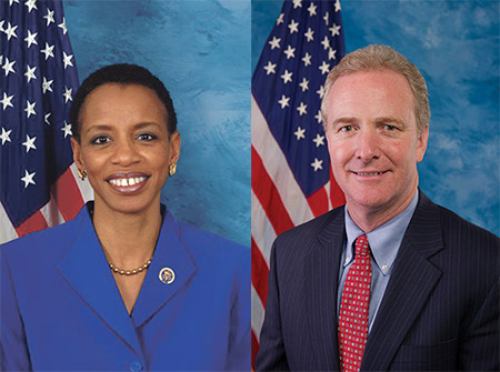 Rep. Donna Edwards (D-Md.) and Rep. Chris Van Hollen (D-Md.)