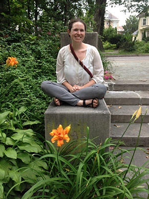 Erica Belkin Allen, is the assistant director of congregational  education at Chizuk Amuno Congregation. (Provided)