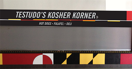 Testudo's Kosher Korner food stand will open for business on Nov. 17 at the Maryland-Georgetown men's basketball game.