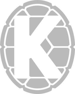 This turtle shell kosher symbol adorns Testudo's Kosher Korner stand.