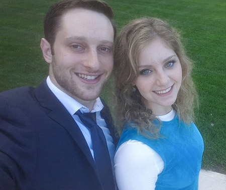 Rivka and Dovi met courtesy of Michelle Mond, and they will tie the knot on Dec. 20. (Provided)