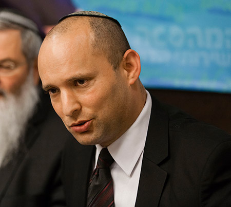 Naftali Bennett (Copyright (C) Flash 90 2013)