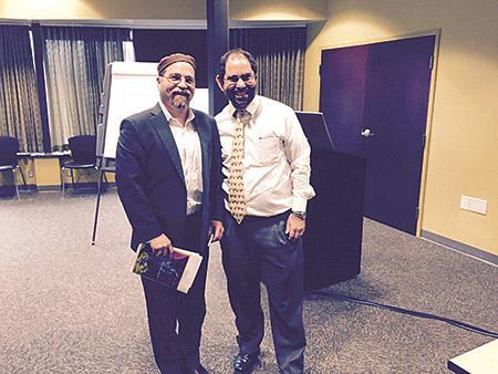 Rabbi Geoff Basik with Neil Rubin (Provided)