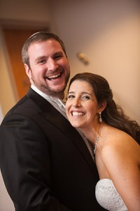 Laura & David  Goldstein  First Connection:  USY, fall 2002  Wedding Date:  May 10, 2015  Venue:  Beth Israel Congregation  Residence:  Silver Spring, Md.  Favorite Activity:  Walking their 1-year-old Spaniel-Dachshund mix, Meeka