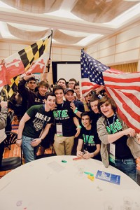 Rockville, Md.'s turnout shows its BBYO enthusiasm. (Photo by David Stuck)