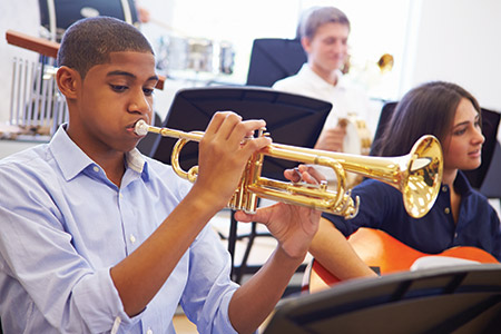 Due to stagnant and declining enrollment, Franklin High School is restructuring its music offerings. (istockphoto.com/monkeybusinessimages)