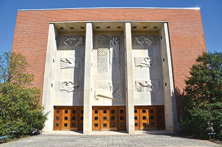 Baltimore Hebrew Congregation, designed by Percival  Goodman (Melissa Gerr)
