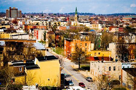Baltimore neighborhoods (Photo by David Stuck)