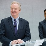 Rep. Donna Edwards concedes the race to Rep. Chris Van Hollen. (Tom Williams/CQ Roll Call)