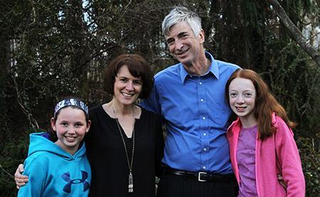 From left: Rebecca Fishkin, Jill Feinberg, David Fishkin and Stephanie Fishkin. (Justin Katz)