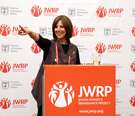 JWRP founding director Lori Palatnik said the key to strengthening the heritage of Jews is through the Jewish mother. (Provided)
