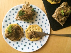 Vegan chopped liver (Provided)