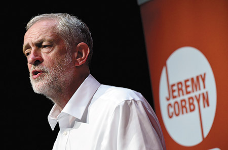 Labor Party leader Jeremy Corbyn is no stranger to controversy, having called Hezbollah and Hamas members his friends. (Mark Runnacles/Getty Images)