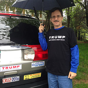 "Bruce Botwin voted for Cruz, but now says that Trump's divisive rhetoric doesn't bother him because he is simply ""stating the facts."" (Photo courtesy Bruce Botwin)"