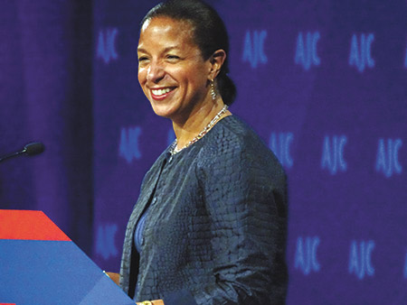National Security Advisor Susan Rice (Photo by Daniel Schere)