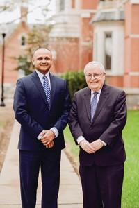 Above: Incoming president Dr. Harsh K. Trivedi and Dr. Sharfstein (Courtesy of Sheppard Pratt)