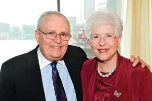 Dr. Sharfstein with his wife, Dr. Margaret Sharfstein (Courtesy of Sheppard Pratt)