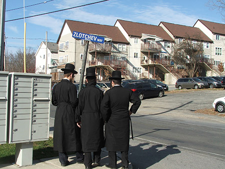Kiryas Joel in Orange County, New York has been the subject of two FBI raids in two months, lending to a sense of siege in the insular community. (Uriel Heilman)