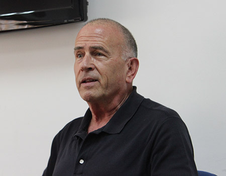 """Yossi Alpher, in his new book """"No End of Conflict: Rethinking Israel-Palestine,"""" argues that peacemakers must separate """"pre-1967"""" and """"post-'67"""" issues. (Photo courtesy Americans for Peace Now)"""