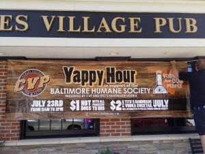 Charles Village Pub banner