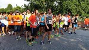 Runners and walkers of all ages line up at last year's event. (provided)