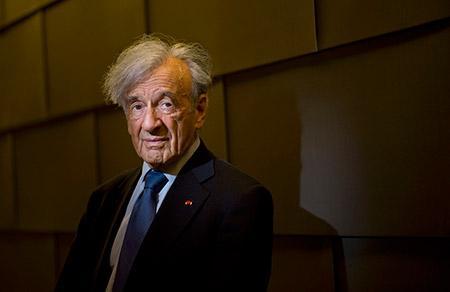 Elie Wiesel (Eugene Garcia/ZUMA Press/Newscom)