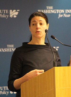 Merav Michaeli (Courtesy of the Washington Institute for Near East Policy)