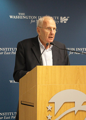 Oded Eran (Courtesy of the Washington Institute for Near East Policy)