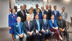 Pro-Israel state legislators were recognized July 28 at an event hosted by The Israel Project and Jewish Federations of North America. (Andy Gotlieb)