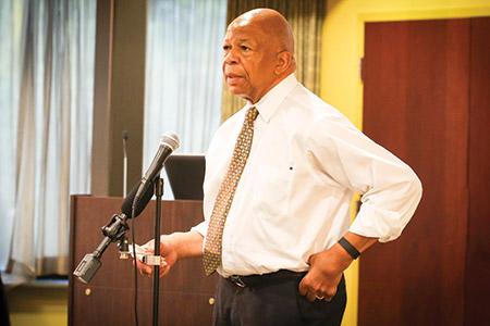 "U.S. Rep. Elijah Cummings says the program gives him ""a tremendous amount of pride."" (Photos by Earth Street Photography)"