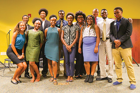 Twelve students took part in the Elijah Cummings Youth Program, which sent them to Israel for most of July. (Photos by Earth Street Photography)
