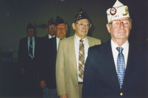 Members of the Jewish War Veterans Maryland Free State Post 167 in 1991. (Snapshot: CCourtesy of the Jewish Museum of Maryland, 2005.036.118)