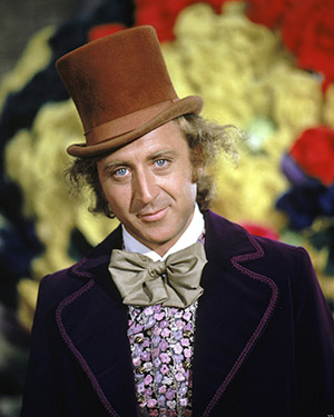 Gene Wilder as Willy Wonka (Photo by Silver Screen Collection/Hulton Archive/Getty Images)