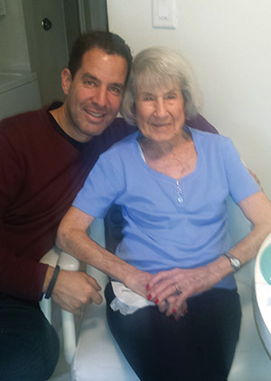 It was Mary Shofer's bad fall that spurred her grandson, Paul Merenbloom, to take action. (Provided)
