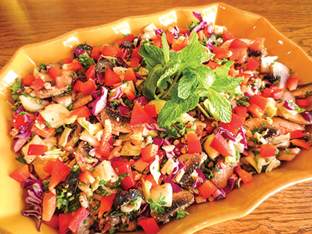 Debra Wasserman's cabbage salad
