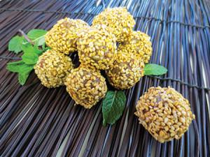 Debra Wasserman's tahini peanut confection