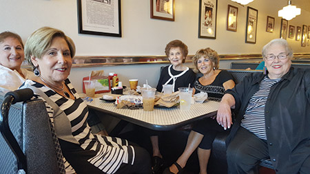 A group of local friends meets weekly at Miller's Deli to play mah-jongg (Photo by Mathew Klickstein)