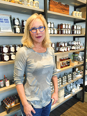 Kara Brook's desire to make her own art supplies has turned into a prosperous honey business that now includes beauty products. (Provided)