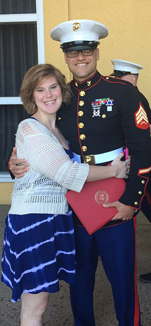 Shelley and Todd Engel of Columbia, Md., are happy to announce the engagement of their daughter Jayme Engel to Marine Corps Staff Sgt. Justin Boling of Jeffersonville, Ind. Jayme has a master's degree from the University of Maryland School of Social Work. A New Year's Eve 2016 wedding is planned.
