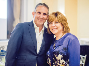 John Shmerler, campaign chair, and Linda Elman, women's campaign chair, kicked off The Associated: Jewish Community Federation of Baltimore'a 2017 annual campaign, which raises funds to help Jewish communities in Baltimore, Israel and  around the world. (Provided)