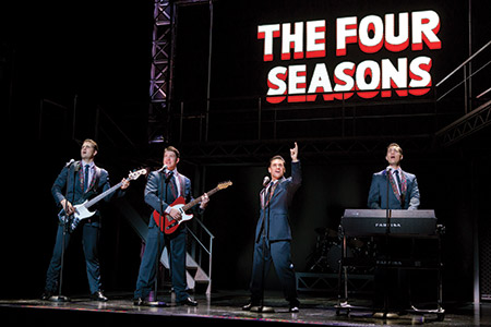 """Jersey Boys"" tells the story of the Four Seasons and features performances of their hits from the 1960s and '70s. (Jeremy Daniel)"