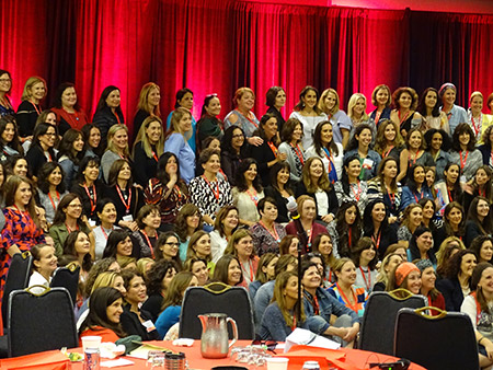 More than 300 Jewish mothers attended the annual Jewish Women's Renaissance Project Leadership Conference in College Park. (Daniel Schere)