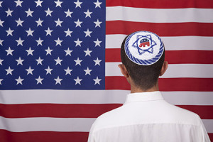 "Former White House speech writer Noam Neusner wrote an essay in the Forward, ""How Republican Jews Utterly Failed To Prevent Rise of 'Toxic' Donald Trump."" (Photo compiliation using istockphoto.com)"