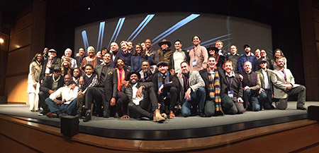 "The cast and crew from ""The Birth of a Nation"" (Photo provided)"