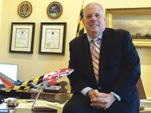 Maryland Gov. Larry Hogan said one result of his trip is a five-year extension of the collaboration between the University of Maryland, Baltimore and Hebrew University of Jerusalem. (Daniel Schere)