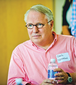 Dr. Christopher Leighton (file photo)