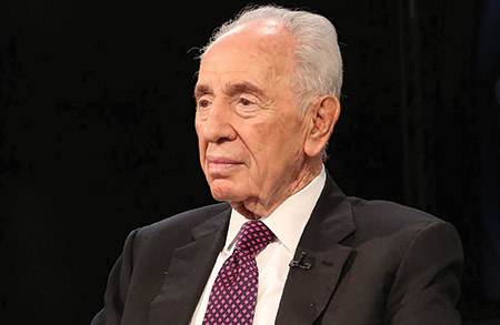 Shimon Peres (Taylor Hill/Getty Images)