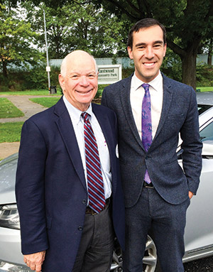 Cohen and Ben Cardin (Photo by Justin Silberman)